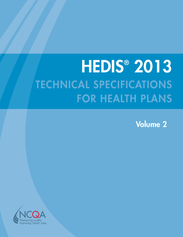 HEDIS 2013